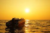 Sea at sundown — Stock Photo