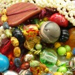 Stock Photo: Colourful jewelry , beads ,bracelet ,