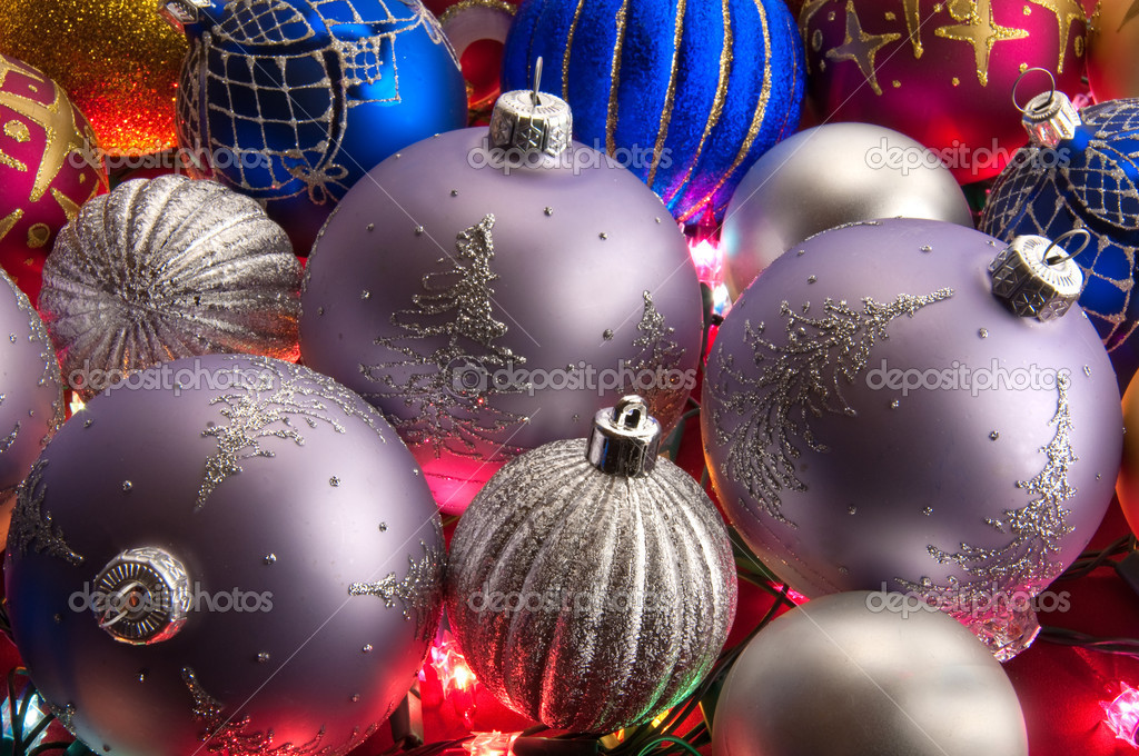 New year day  and Christmas decoration for a celebratory christmas tree — Stock Photo #1429702