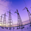 Stock Photo: Power Lines Volts