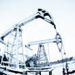 Stock Photo: Two oil pump