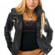 Portrait young woman — Stock Photo #1209565