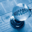 Globe and formula of succes - Stockfoto