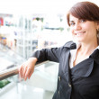 Young businesswoman — Stock Photo