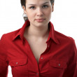 Young beauty business woman — Stock Photo