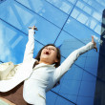 Success business woman — Stock Photo