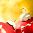 Christmas ball decoration — Stock Photo #1211607