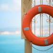 Stock Photo: Orange buoy