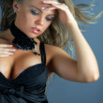 Glamour sexy woman portrait — Stock Photo