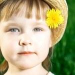 Little girl — Stock Photo