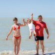 Young family having fun — Stock Photo #1670655