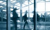 современные стеклянные интерьера — Стоковое фото