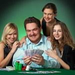 Poker players in casino — Stock Photo #2084161
