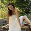 Sexy bride — Stock Photo #1287370
