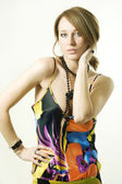 Fashion portrait #2 — Stock Photo