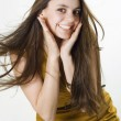 Cheerful expression — Stock Photo