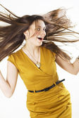 Wind in the hair — Stock Photo