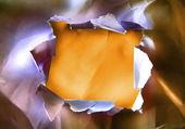 Paper's hole — Stockfoto