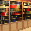 Bookcase with old book - 