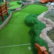 Mini golf park — Stock Photo