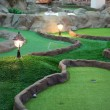 Mini golf park - Stock Photo