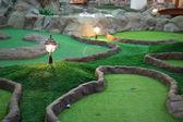 Mini golf park — Stock fotografie