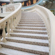 Fragment of Luxury hall with staircase - Stock Photo