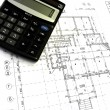 Construction drawings — Stock Photo #1535810