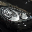 Stock Photo: Automobile headlamp