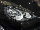 Automobile headlamp — Stock Photo