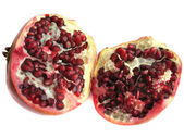 Two half pomegranate — Stock Photo