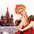 Russian girl — Stockfoto