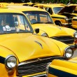 Retro taxi - Stock Photo