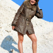Stock Photo: Girl in furs 8