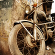 Stock Photo: Old bike
