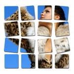 Girl in furs — Stock Photo #1227738
