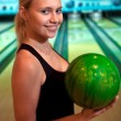 Pretty bowler — Stock Photo