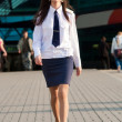 airhostess — Stock Photo