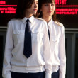 Airhostess - Stock Photo