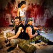 Soldiers of fortune — Stock Photo
