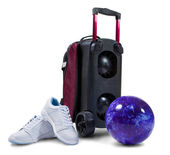 Accessories for bowling — Stock Photo