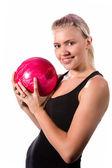 Pretty bowler — Stock Photo