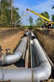 Trunk pipeline — Stock Photo