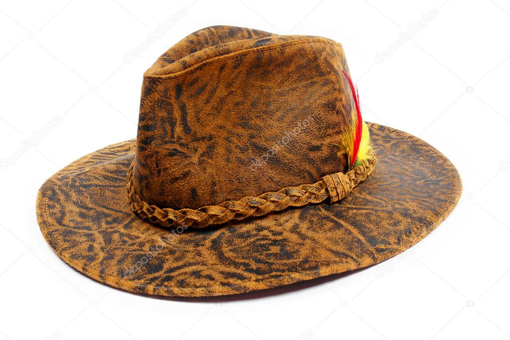 Cowboy hat. Isolated on white  Stock Photo #1227963