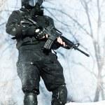 NATO soldier — Stock Photo