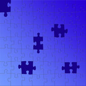 головоломка — Стоковое фото