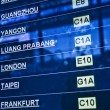 Airport departure board — Stock Photo #1286723