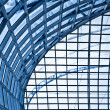 Abstract blue ceiling interior — Stock Photo #1286794