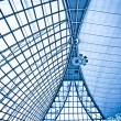 Abstract blue ceiling interior backgroun — Stock Photo #1286815