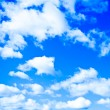 Royalty-Free Stock Photo: White clouds in the sky